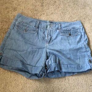 Tommy Hilfiger - Cuffed Denim Shorts - 12